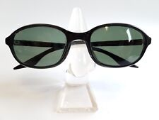 RAY BAN VINTAGE B&L W2836 GLOSSY BLACK G15 SIDE STREET CATS NEW SUNGLASSES NOS