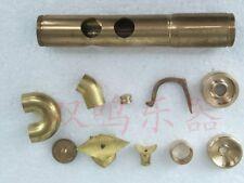trumpet Repair parts Piston top caps chrome Valve Finger Buttons Brass parts