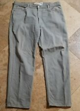 Levis 550 42x32 Light Wash Relaxed Fit Jeans Red Tab Blue Pants