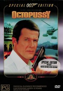 OCTOPUSSY DVD 007 ROGER MOORE SPECIAL EDITION NEW AND SEALED