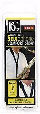 BG S13M Tenor/Baritone Saxophone Comfort Strap with Metal Hook