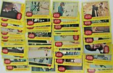 VINTAGE STAR WARS SERIES 3, CARDS 133-198 COMPLETE SET