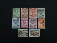 Gold Coast Stamps SG 120/130 part set 10 of 13 GU issued 1938-44 p12 & 11.5x12.