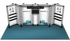 10X20 TRADE SHOW BOOTH DISPLAY CUSTOM SHOT SHOW GUN DISPLAY CROSSWIRE EXHIBITS