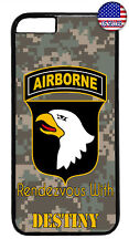 Camo Airborne Eagle USA Military Forces Case Cover iPhone Xs Max XR X 8 7 6 Plus