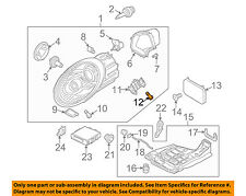 PORSCHE OEM 05-13 911 Headlight Head light lamp-Rear Cover Screw 99763119100
