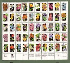 2647-2696  Wildflowers of America  29 cent   MNH Sheet of 50.   Issued in 1992