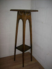 Retro Vintage 1960s/1970s Tall Wooden Display/Plant Stand