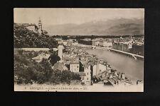 Carte postale ancienne CPA GRENOBLE - L'Isère et la Chaine des Alpes