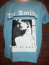 KIDS CHILDRENS THE SMITHS HATFUL OF HOLLOW T SHIRT IN BLUE