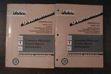 1996 GM Van Lumina Trans Sport Silhouette Shop Manual