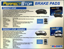 PERFECT STOP PS1423C Brake Pad or Shoe, Rear-Perfect Stop Brake Pad