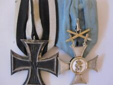 German WWI Order of Friedrich of Württemberg 2nd Class with Iron Cross Mounted