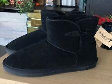 NEU! BONOVA Handmade Leder Lammfell Boots Stiefeletten komplett warm gefüttert