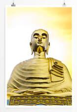 60x90cm Künstlerische Fotografie – Thailändischer Buddha bei Sonnenaufgang