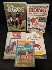 Horse Riding Book Lot_Complete Principles of Riding & Driving System + 4 More!