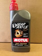 Motul Gear 300 LS 75W90 100% Synthetic gearbox and differential oil LSD GL5