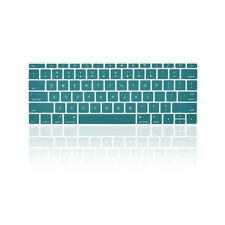 """AQUA BLUE Keyboard Cover for Macbook Pro 13"""" A1708 NO Touch Bar (Release 2016)"""