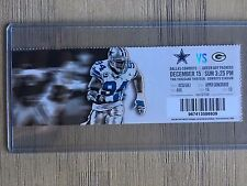 2013 Dallas Cowboys vs Green Bay Packers Official NFL Ticket Stub 12/15/2013