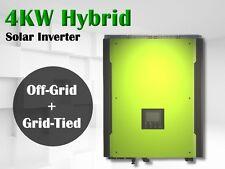 4000w Hybrid solar inverter 48v 230vac PV input 580v, grid tied +off grid solar