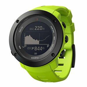 Suunto Watch Ambit 3 Vertical 10 ATM Waterproof GPS Altitude Direction  Lime