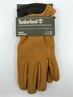 New Timberland Mens Nubuck Soft Leather Touch Screen Technology Gloves Medium