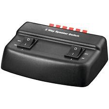 Speakercontrol Lautsprecher-Umschaltbox Goobay