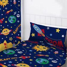 ESPACE RIDEAUX 183cm Goutte prêt à l'em Ploi enfants - Planètes FUSÉES ÉTOILES