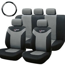 9PCs Sporty Car Seat Cover Auto Pad Protector Mat Harness Pads For Toyota Ford