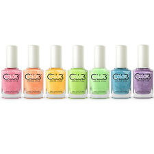 Color Club Poptastic Pastel Neon Remix Collection Nail Lacquer Set Of 7