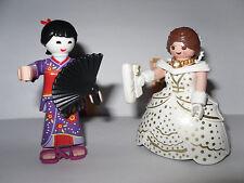 Serie 2 * Girls * 2 x Playmobil 5158 * geisha + princesa * nuevo