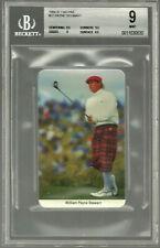 Payne Stewart 1986 1987 Fax-Pax Golf  BGS 9 9.5   MINT Vintage Rare LOW POP