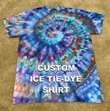 Custom Order Handmade Ice Tie Dye Shirt $15-$18 Please Read Desc Best Offer Only