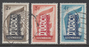 Luxembourg 1956 Europa set Used