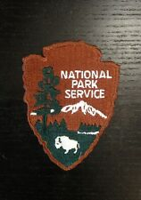 Official Authentic National Park Service Patch Arrowhead Park NPS Badge