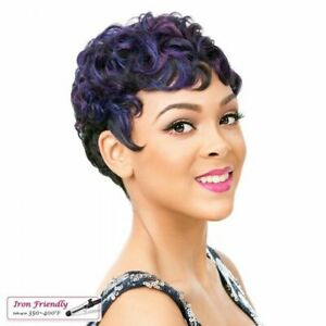 Its a Wig Heat Resistant synthetic Real Hair Line Lace Part - Full Cap NUNA Wig