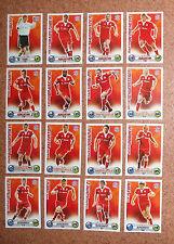 Topps Match Attax Bundesliga 2009/10 BL 09/10 *Bayern München* alle 16 Basecards