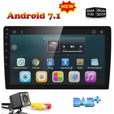"10.1"" Car GPS DDR3 2GB Android 7.1 1 Din Auto Stereo Radio Player Quad-Core DAB+"