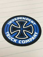 Independent, Skateboard Sticker, Independent Truck Company, Blue, 2""