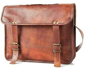Genuine Men's Perfectly made Messenger Leather Laptop Professional Office Bag