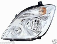 MERCEDES SPRINTER 2006-  HEADLIGHT HEADLAMP PASSENGER  LH LEFT N/S NEAR SIDE