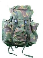 Genuine British Army Bergen Rucksack DPM Camouflage NEED REPAIRS 120L