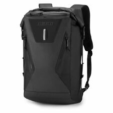 Icon Dreadnaught Waterproof Roll top Technical Motorcycle 20L Backpack - Black