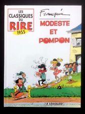 MODESTE ET POMPON - Franquin - Classiques du Rire 1955 - 155 p. - parfait état