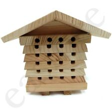 More details for solitary bee hive bee keeping mason beehive beekeeping insect box hotel easibee