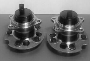 2PC REAR WHEEL HUB BEARING ASSEMBLY FOR 2004-2010 TOYOTA SIENNA FWD FAST SHIP