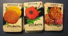 Wholesale Lot of 150 Old Vintage - Flower - SEED PACKETS - 15 Cent - EMPTY 15B