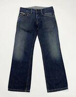 Diesel bethow jeans uomo usato gamba dritta W32 L30 tg 46 denim boyfriend T5031