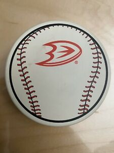 Anaheim Ducks Angels Baseball Puck Co Branded