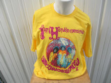 Vintage Alstyle Jimi Hendrix Are You Exprience Xl Yellow T-Shirt Nwot 2009 Tm